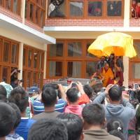 Dalai Lama's Visit at Phey Gonpa