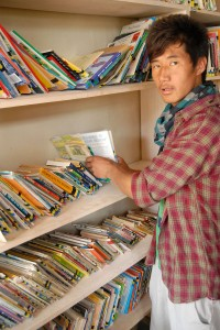 Chotak Deleks keeps the Library in Order