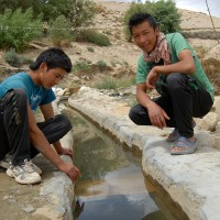 The Source of our Tab Water, looked after by Tashi and Jigmet