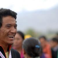 Lundup volunteered for the Kalachakra