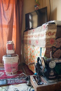 Contrasting Ladakh: The Bucket is used to produce Butter