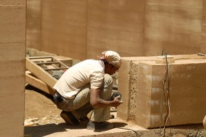 Contemporary Rammed Earth Construction
