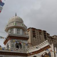Die Moschee am Ende des Main Bazaars