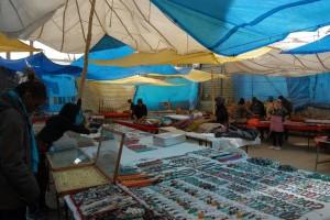 Tibetan Refugee Market in Leh