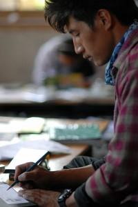 Zeichenworkshop im Campus