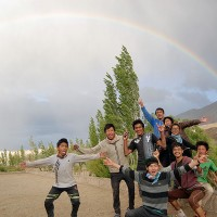 Rainbow at the Campus