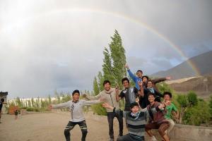 Rainbow at the Campus