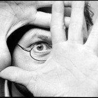Eckhard, test-photo with flash