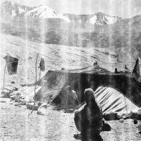 Nomad tent at Korzok Phu