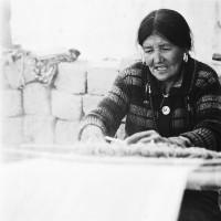 Weaving stool at Korzok