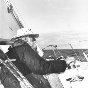 Adolf Sander, der Skipper